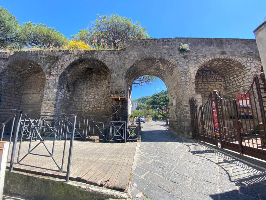 Ancient walls of Sorrento city