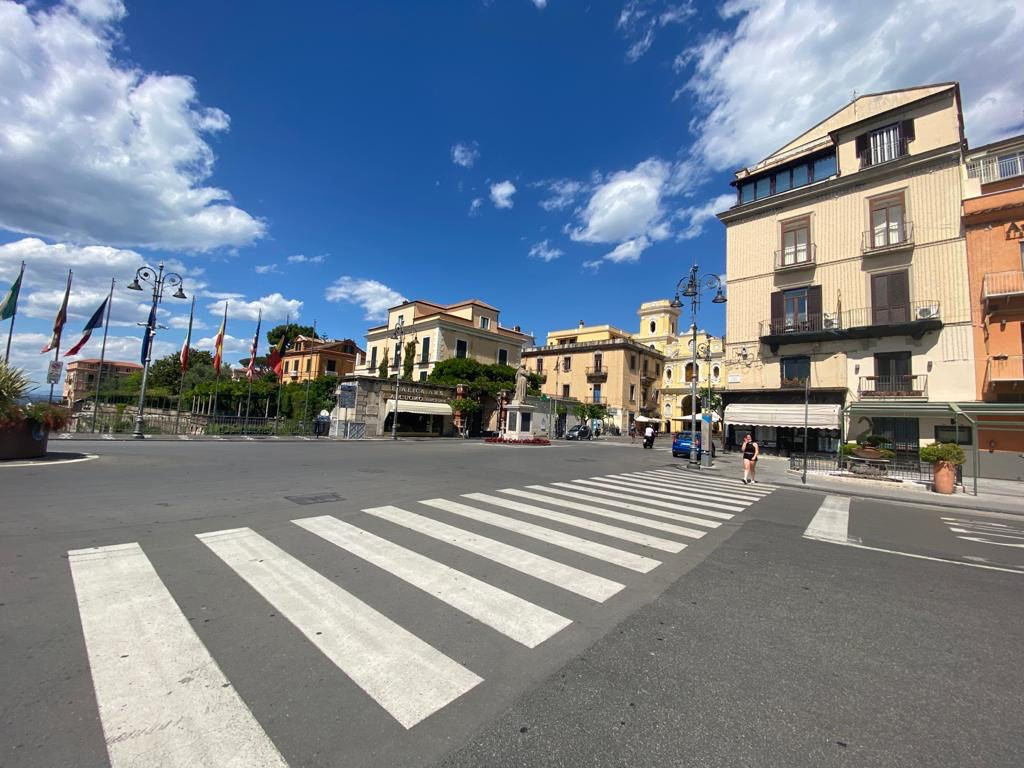 Tasso square in Sorrento