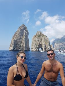From Amalfi to Capri private boat tour
