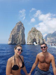 From Amalfi to Capri private boat tour
