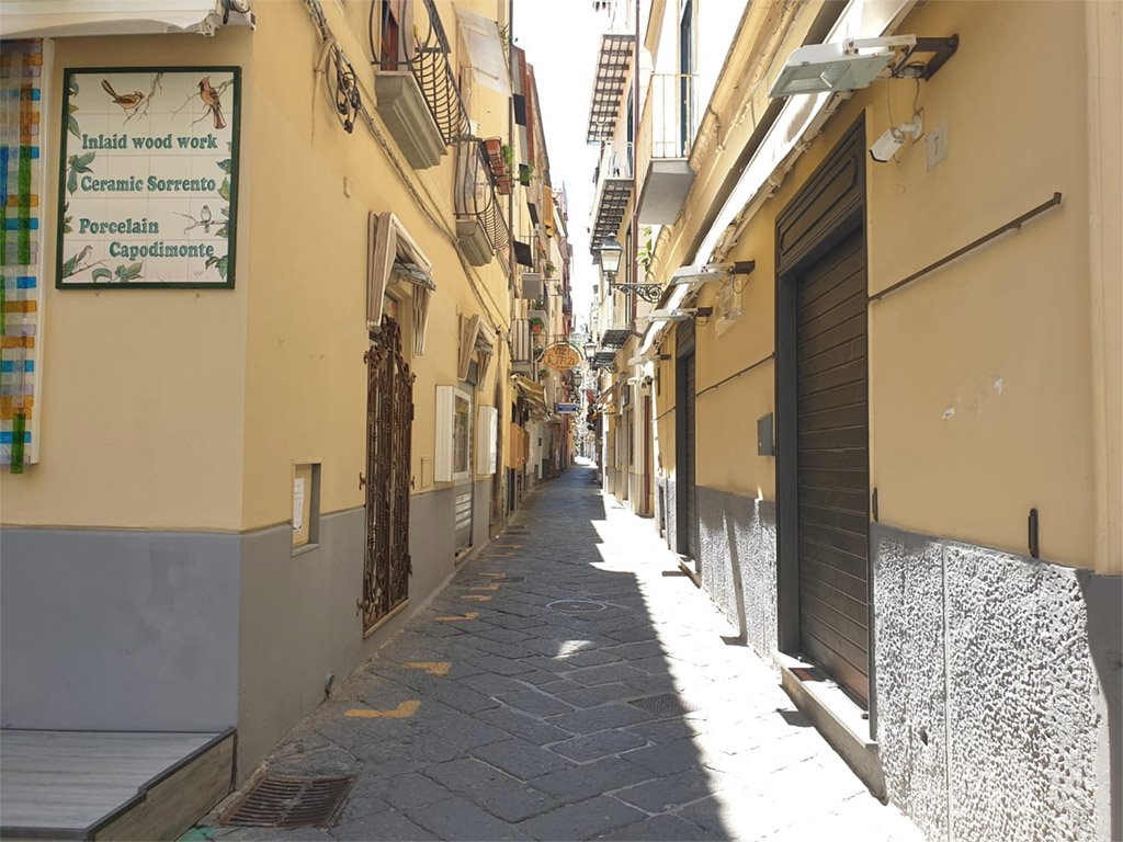 Sorrento historical center