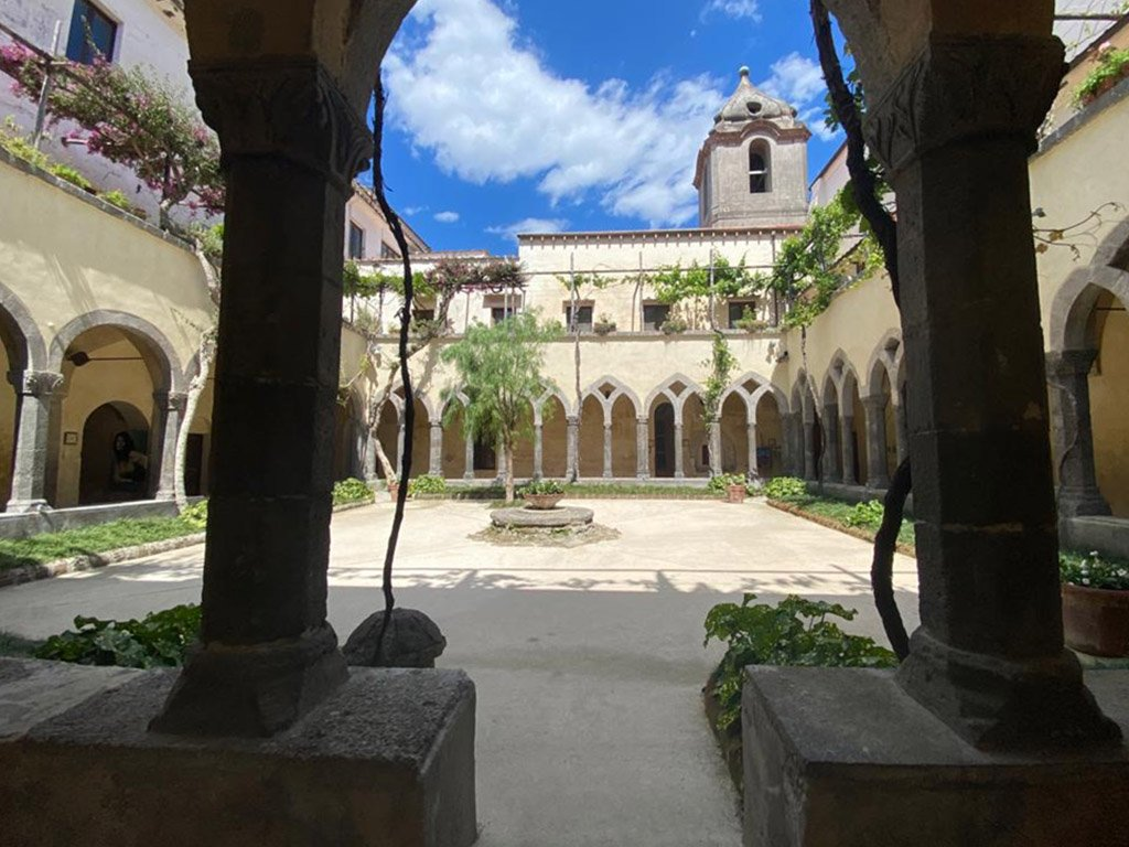 Cloister of Saint Francesco in Sorrento