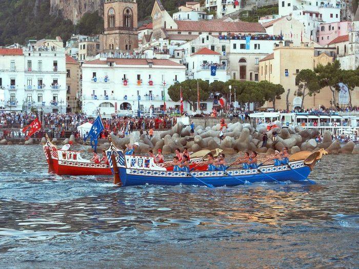 The historical regatta