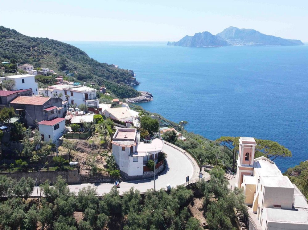 Marciano with views of Capri