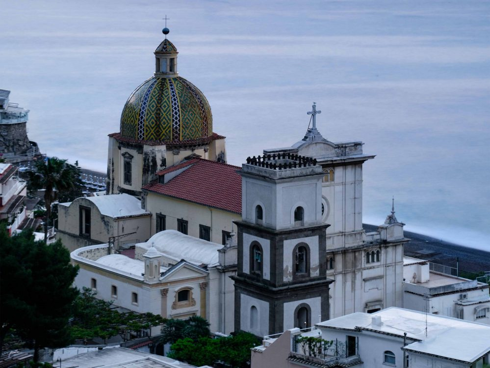 The Church of Santa Maria Assunta in Positano