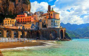 Positano Praiano Amalfi & Emerald grotto
