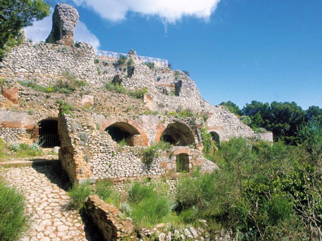 Villa jovis ruins of Capri