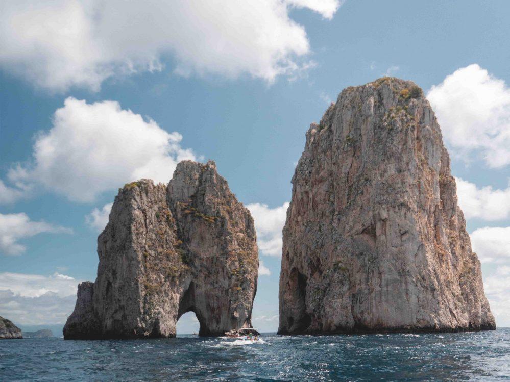 Faraglioni rock's in Capri