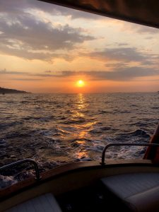 Sorrento sunset boat tour of 3hrs
