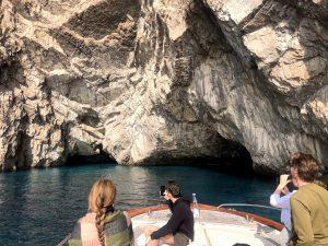 Boat from Sorrento to Capri