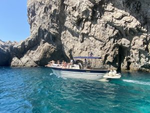 Boat from Positano to Capri island, day trip swimming tour
