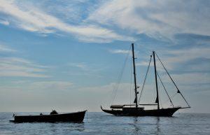 costa amalfitana en barco desde Sorrento