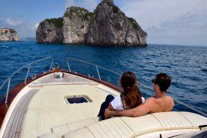 Tour da Amalfi a Capri in barca privata